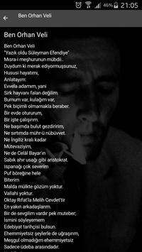 Orhan Veli Şiirleri ve Hayatı apk screenshot