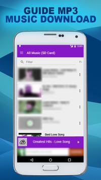 Best Mp3 Music Downloads Guide apk screenshot