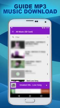 Music Downloader Mp3 Guide apk screenshot