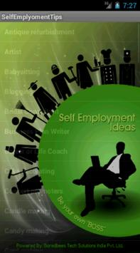 Self Employment Tips poster