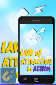 Law Of Attraction in action poster