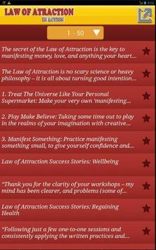 Law Of Attraction in action apk screenshot