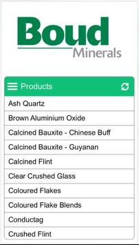 Boud Minerals apk screenshot