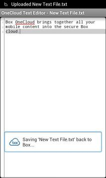 OneCloud Text Editor apk screenshot