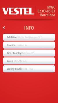 Vestel Exhibitions apk screenshot