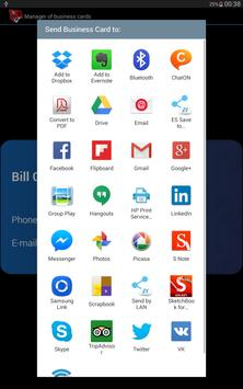 Share my Business card apk screenshot