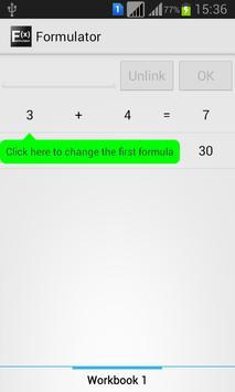 Spreadsheet Calculator apk screenshot