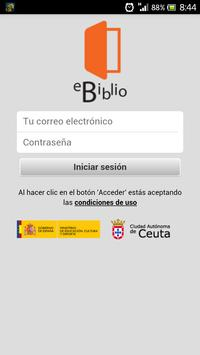 eBiblio Ceuta apk screenshot