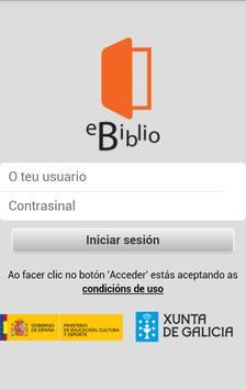 eBiblio Galicia poster
