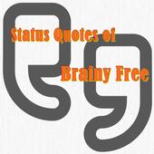 Status Quotes of Brainy Free icon