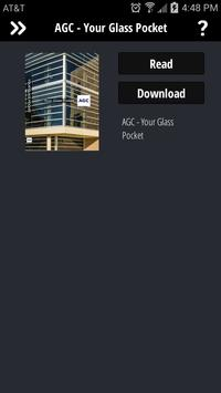 AGC Glass Pocket Guide apk screenshot