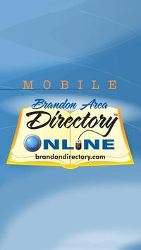 Brandon Directory Yellow Pages poster