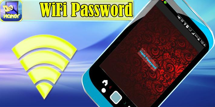 Wi Fi Prank Password Hacker poster