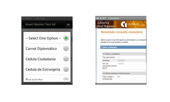 Mi RUNT - Colombia apk screenshot