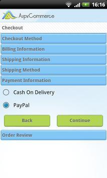 AspxCommerce Mobile apk screenshot