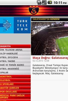 Galatasaray Browser - Tarayıcı apk screenshot