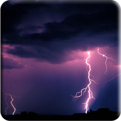 Storms water effect LWP icon