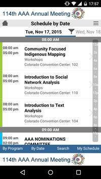 AAA Annual Meeting apk screenshot