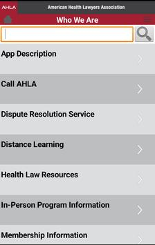 AHLA apk screenshot