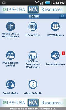 IAS-USA HCV Resources apk screenshot
