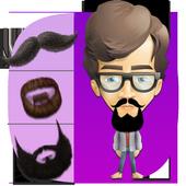 Mustache Beard Photo Maker icon
