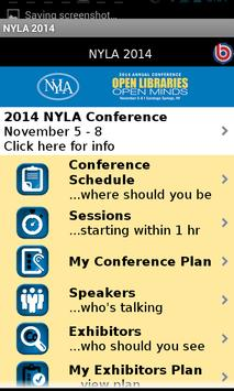 2014 NYLA Annual Conference poster