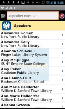2014 NYLA Annual Conference apk screenshot