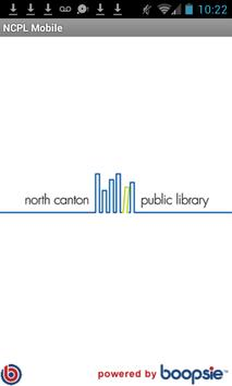 North Canton Public Library poster