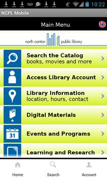 North Canton Public Library apk screenshot