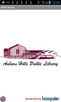 Auburn Hills Public Library poster