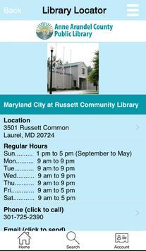 Anne Arundel County Library apk screenshot