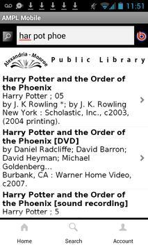Alex Library Mobile apk screenshot