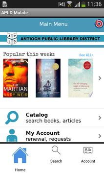 Antioch District Library App poster