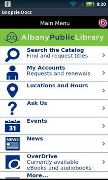 Albany Public Library Mobile poster