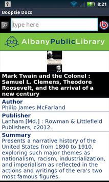 Albany Public Library Mobile apk screenshot