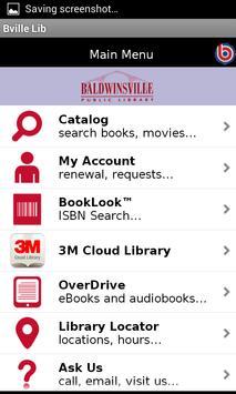 Baldwinsville Public Library poster