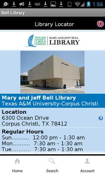 Mary and Jeff Bell Library apk screenshot