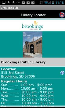 Brookings Public Library apk screenshot