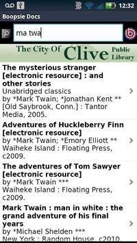 Clive Public Library Mobile apk screenshot