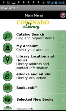Coronado Public Library poster