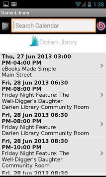 Darien Library apk screenshot