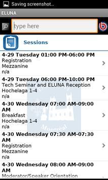 ELUNA 2014 apk screenshot