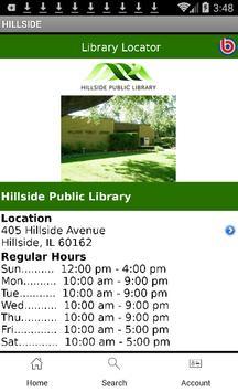 Hillside Library apk screenshot