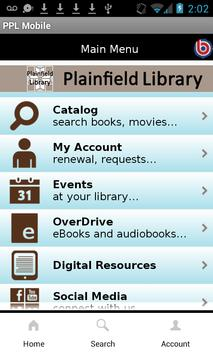 Plainfield Public Library poster