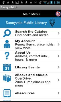 Sunnyvale Public Library poster