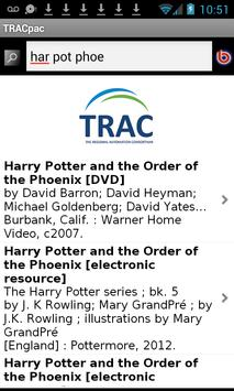 TRACpac apk screenshot
