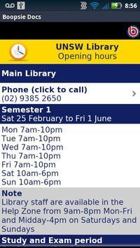 UNSW Library apk screenshot