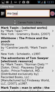 Washington State Library Now apk screenshot