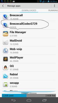 Breezcall G729 Codec Plugin poster