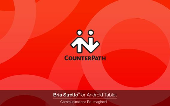Bria Stretto™ for Tablet poster